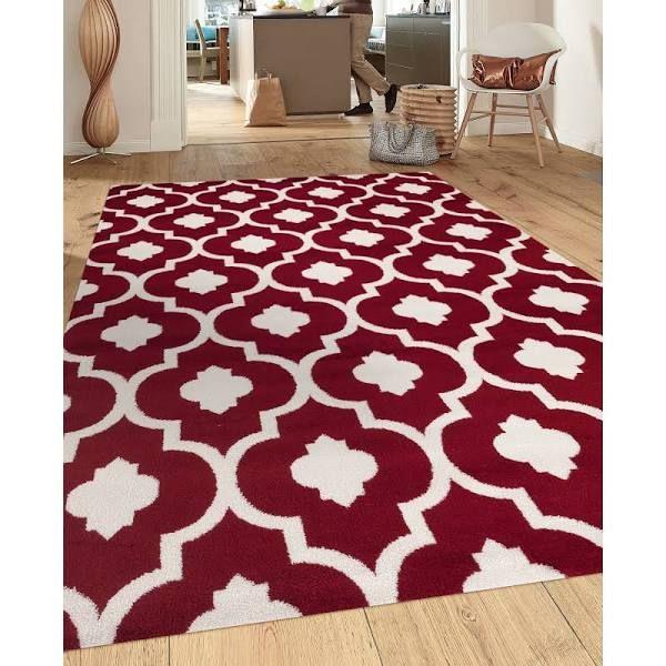 burgundy rug