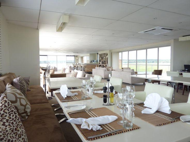 Restaurant aboard Zambezi Queen #AmaWaterways