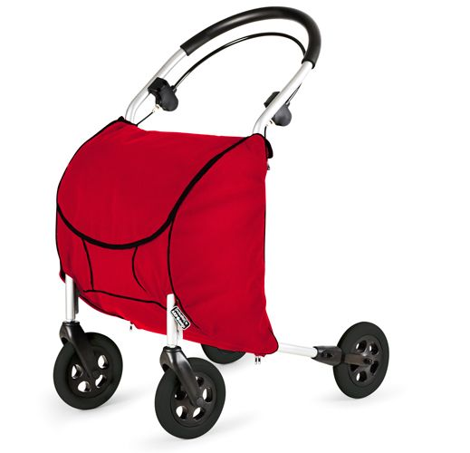 AKP Design Rollator with large shopping bag - for those who need help walking, but want the exercise rather than a scooter