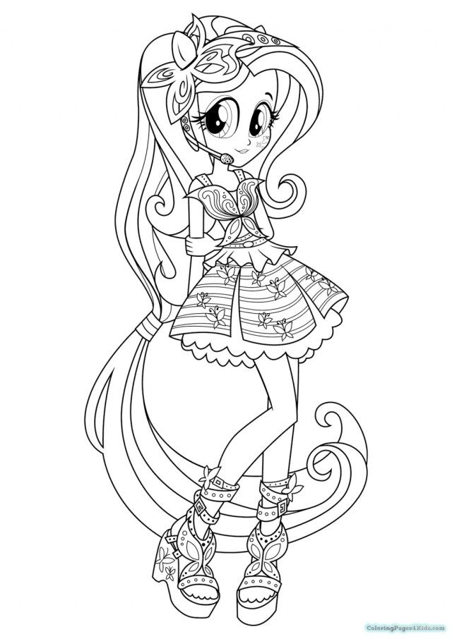 25 excellent picture of equestria coloring pages
