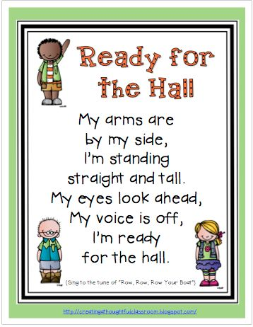 Creating a Thoughtful Classroom: Monday Made It- FREEBIE Line Up Song Poster & Let's Get Acquainted Linky!