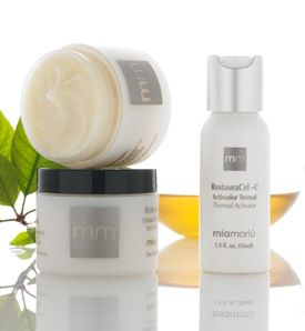 Enter to win a RestauraCel-C Microdermabrasion Set + refreshing foaming gel cleanser from Mia Mariu