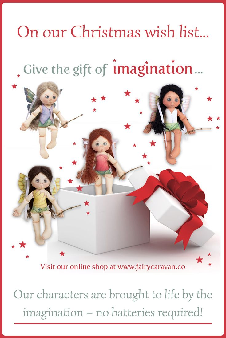 We took some time to think about the deeper meaning of the Christmas gifts and wishes we would like to share with you this year. #fairydoll #fabricdoll #handmadedoll #heirloomdolls