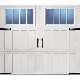 ReliaBilt�9-ft x 7-ft 900 Series Insulated White Garage Door with Windows