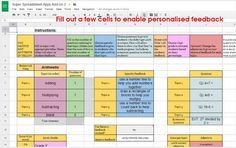 Excellent Google Sheets Tools for Assessment and Grading ~ Educational Technology and Mobile Learning