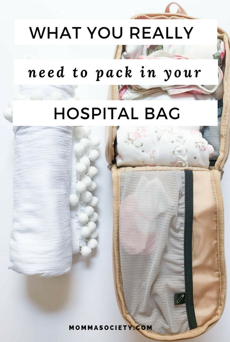 What's In My Hospital Bag? A 2nd Time Mom's Guide