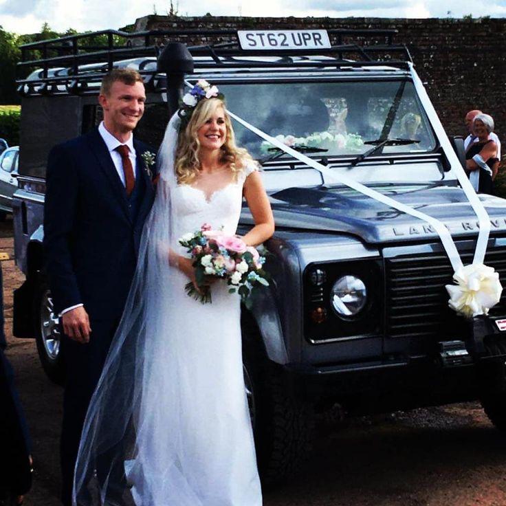 Kenny Sharpe On Instagram Defender Weddingcaredinburgh Edinburghwedding Defenderwedding Scottishwedding Wedding Car Edinburgh Wedding Wedding Car Hire