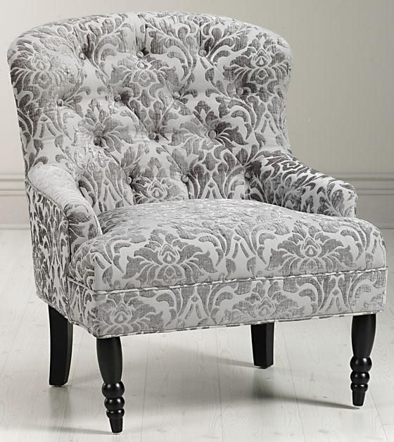 Lainey Tufted Armchair - Arm Chairs - Living Room - Furniture   HomeDecorators.com