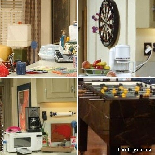 Интерьеры из сериала 'Друзья' / квартира в сериале друзья