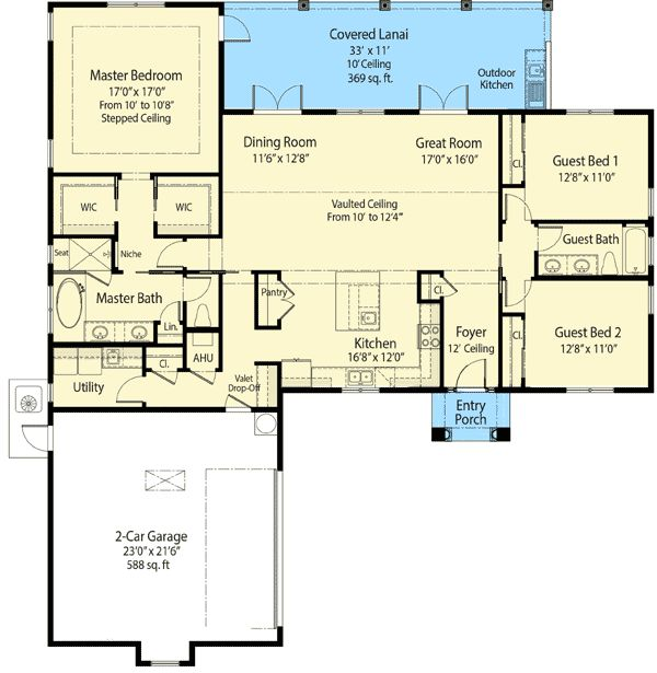 17 Best Ideas About Ranch House Plans On Pinterest