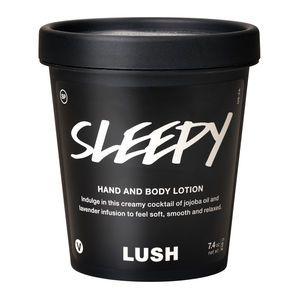 Lush | Sleepy lotion - smells like Twilight bath bomb. I can't wait!