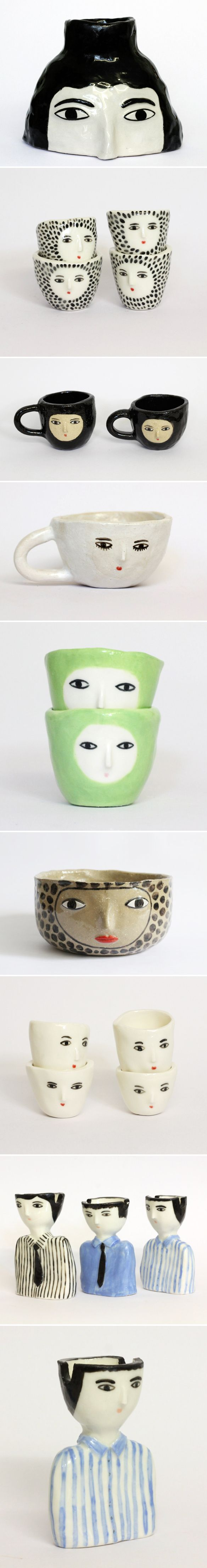 Mugs and ashtrays(!!) by kinska