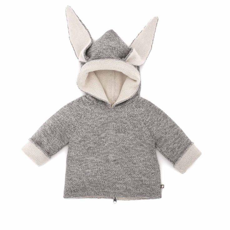 "Babyssimo.de - Oeuf NYC Wendepullover mit Kapuze ""Donkey"" (pre-order!)"