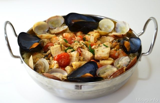 Cous cous di pesce. Scopri ricetta: http://www.misya.info/2012/07/31/cous-cous-di-pesce.htm