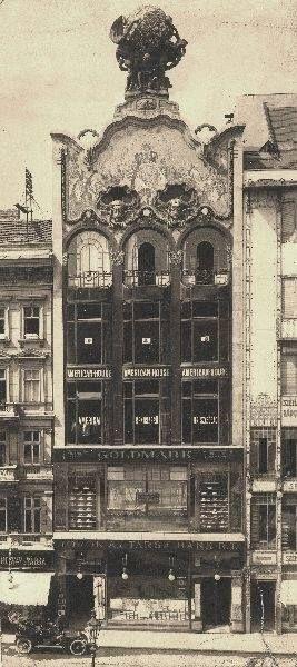 Török-Bankház - 1910. Szervita tér 3.