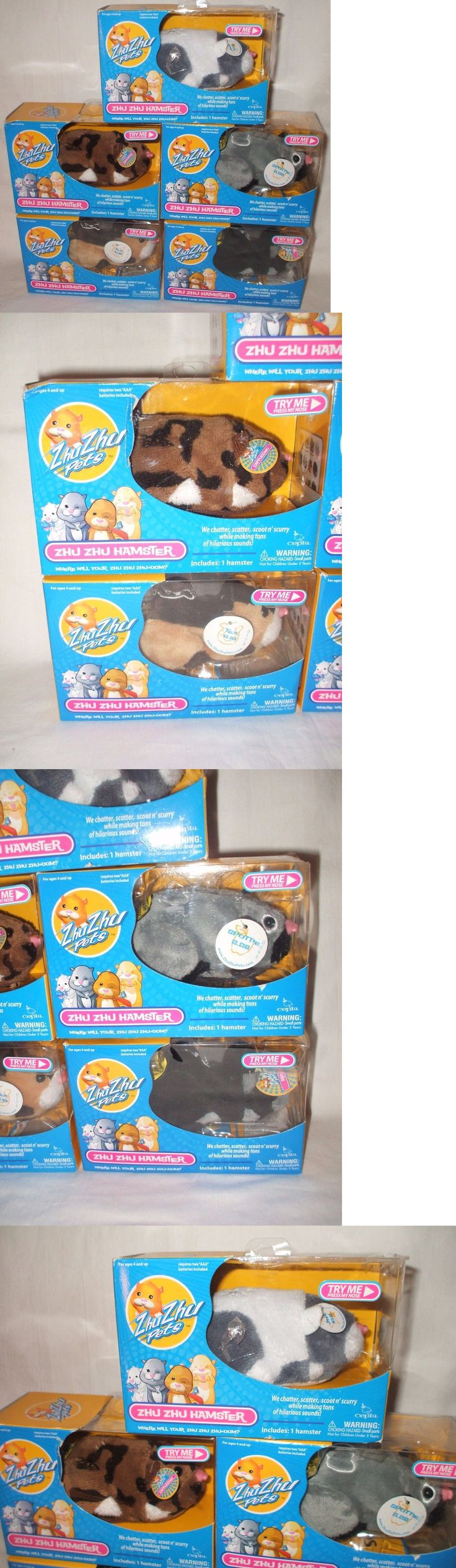 Zhu Zhu Pets 171529: 5 Zhu Zhu Pets Hamsters Rocky Tex Jinx Cappuccino Spottie Toy New In Package -> BUY IT NOW ONLY: $38 on eBay!