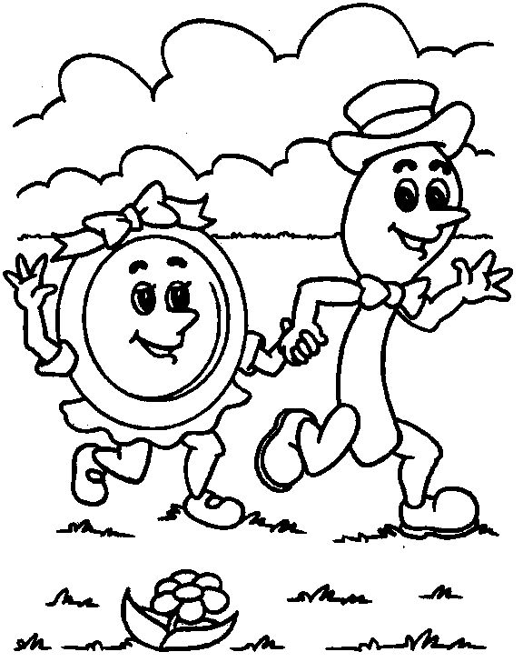 little dog laughed coloring pages - photo#4