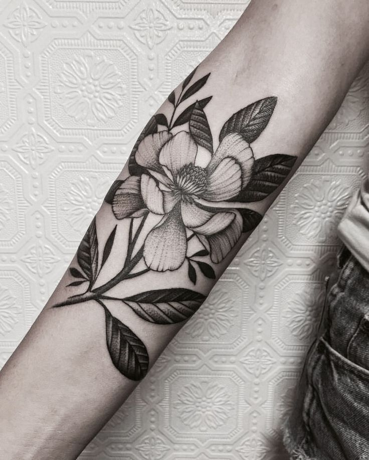 10 Best Ideas About Black Flower Tattoos On Pinterest: Best 25+ Black Flower Tattoos Ideas Only On Pinterest