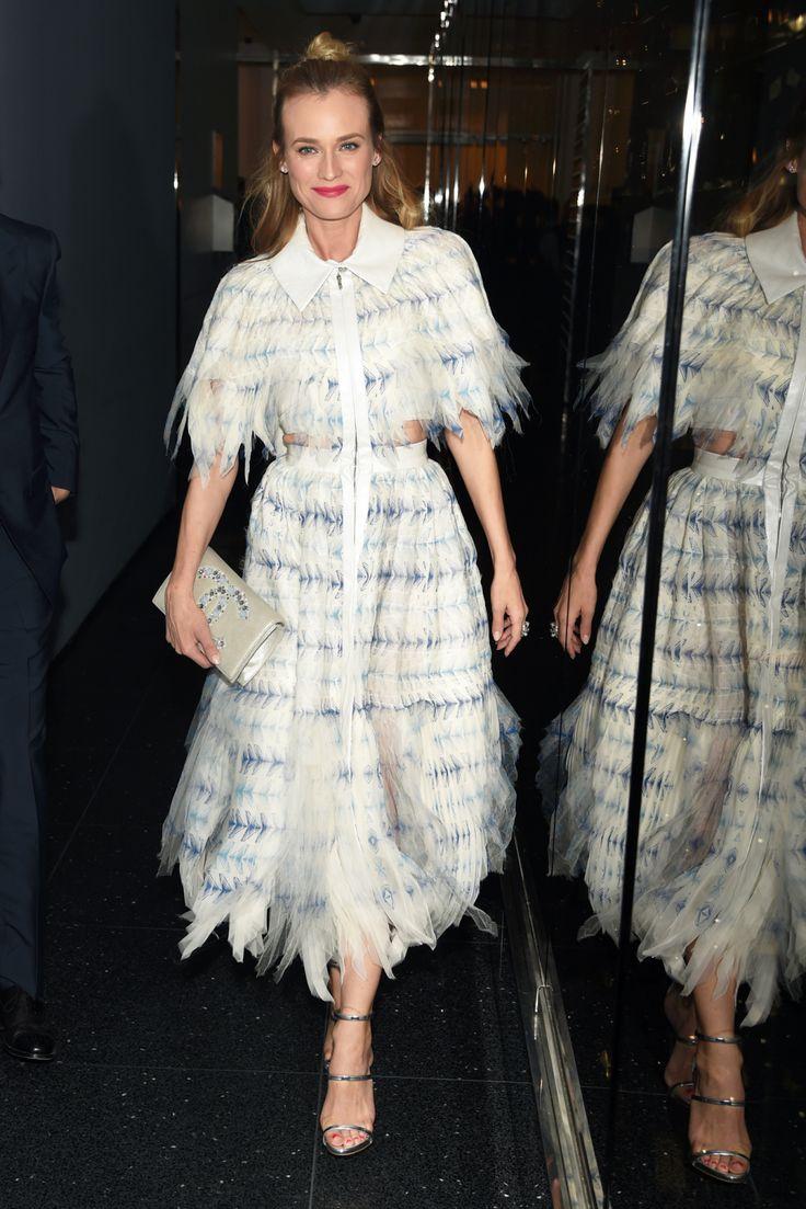 Diane Kruger in Chanel.