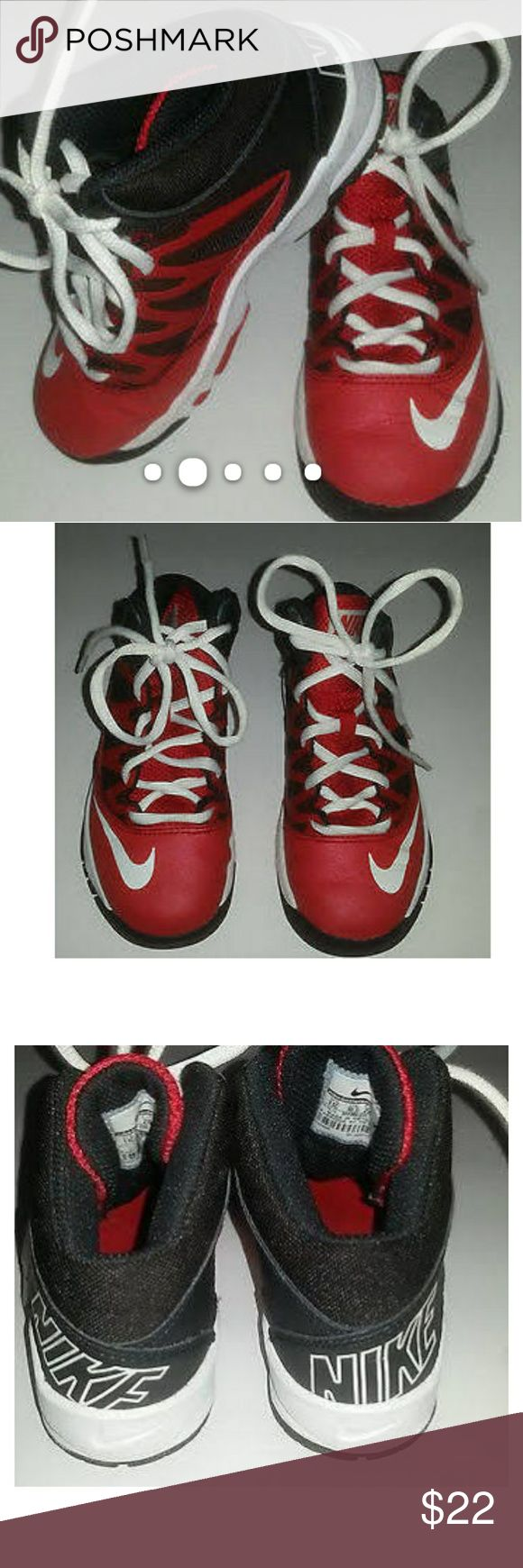 Nike Stutter Step hi-top little boys shoes The shoes have been worn but are in excellent condition. Nike Shoes Sneakers