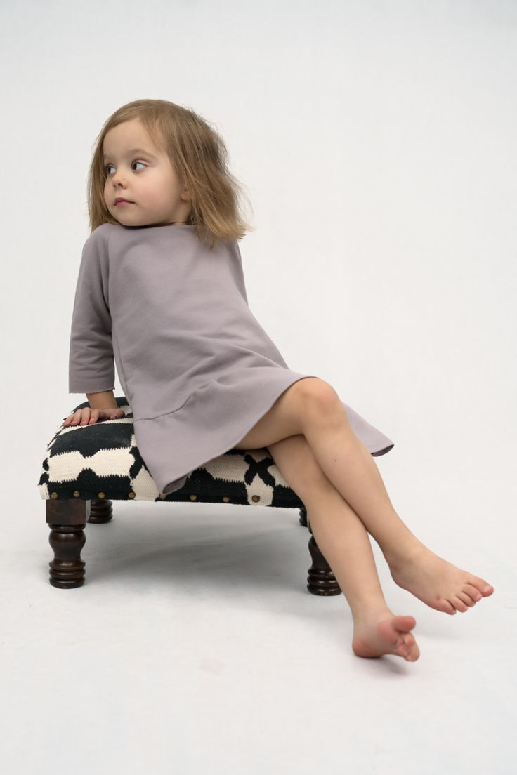 Girl Fashion - Beige Dress with frill by The Same http://www.thesame.eu