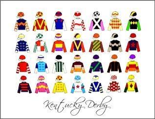 12 best Jockey Silks images on Pinterest | Horse racing ...