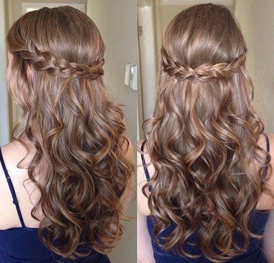 47 Easy Half Up Half Down Hairstyles 2017 Step By Step Page 14 Of 47 Hairstyles 2018 Lon Curly Hair Styles Prom Hairstyles For Long Hair Cool Hairstyles