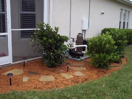 Florida lanai landscaping google search backyard oasis for Small lanai decorating ideas