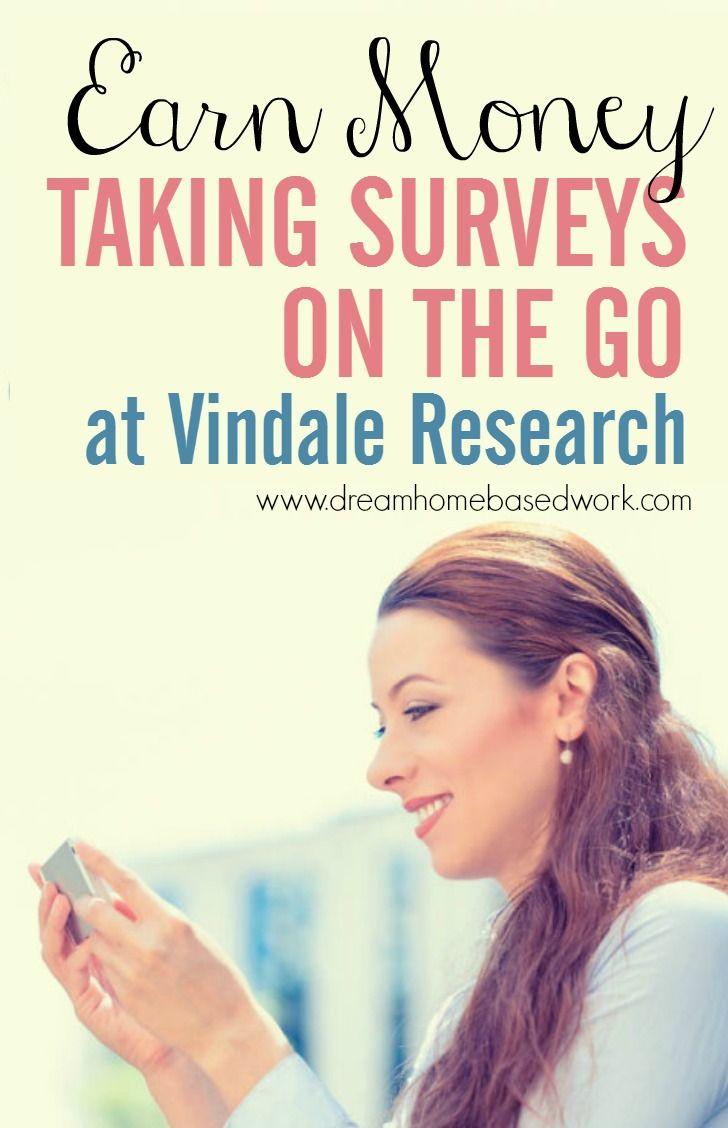 Earn Money Taking Online Surveys At Vindale Research
