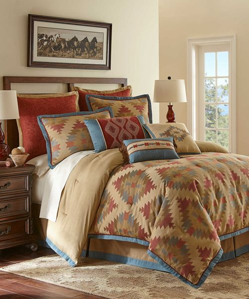 gorgeous unique rustic bedroom furniture set. the canyon river southwestern bedding set combines pattern with a gorgeous array of colors transform your bedroom into retreat unique rustic furniture e
