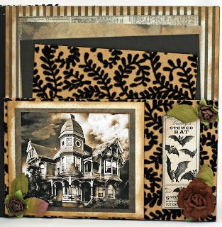 Time For Scrappin: Halloween Mini Album - Sinister Beauty