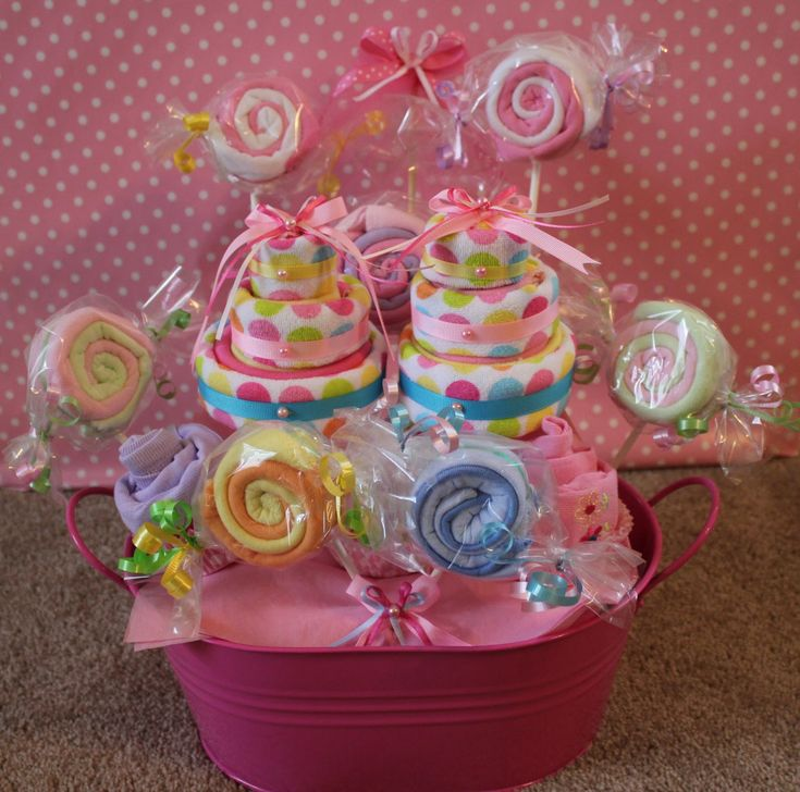 baby shower gift baskets flore cakes baby shower wash cloth gift