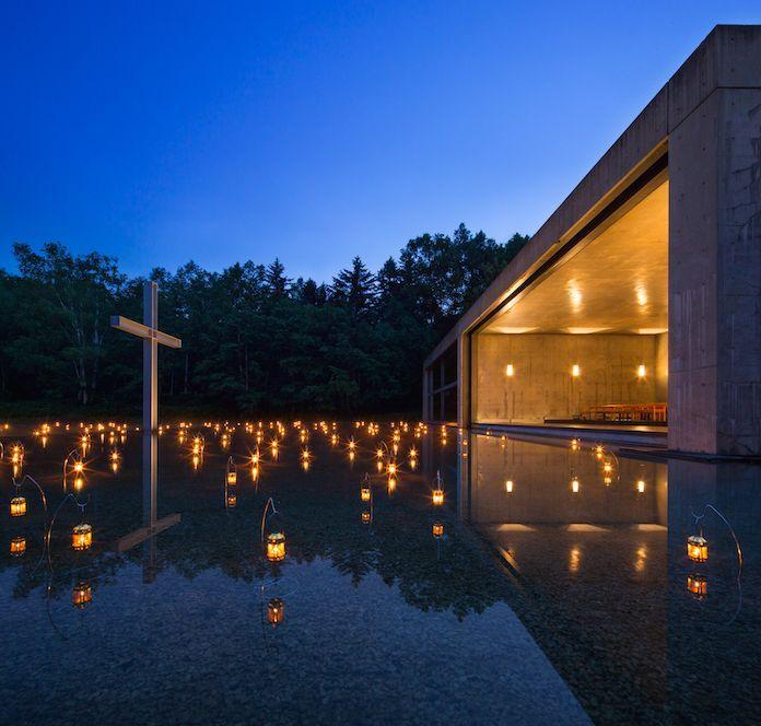 星野リゾートトマム 水の教会