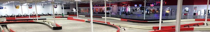 Indoor Go-Kart Racing