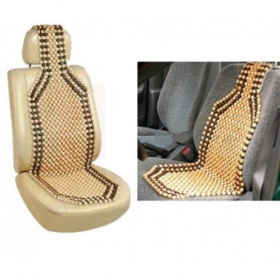 Autosun Car Wooden Bead Seat Acupressure Design-Universal Size At Rs 299  ₹ 990   ₹ 299