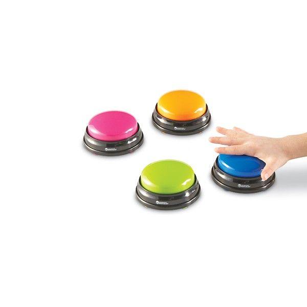 Maak van de les een spannende, interactieve tv-show met deze buzzers - Senso-Care - Materialen voor sensorische informatieverwerking - Je voelt je(zelf) beter! - Ruim assortiment en snelle levering aan particulieren en professionals