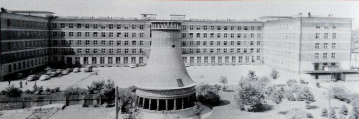 Siedziba Biblioteki w latach 1959-2002 w gmachu Wydziału Włókiennictwa