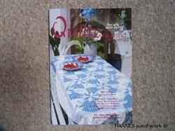 Det flotte norske quiltemagasin nr 4-14, med masse af gode ideer og mønstre til patchwork.