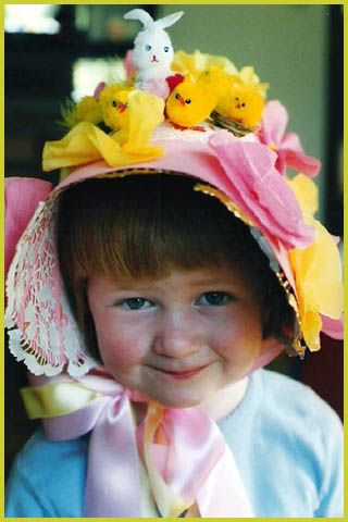 Kids easter bonnet and hat ideas