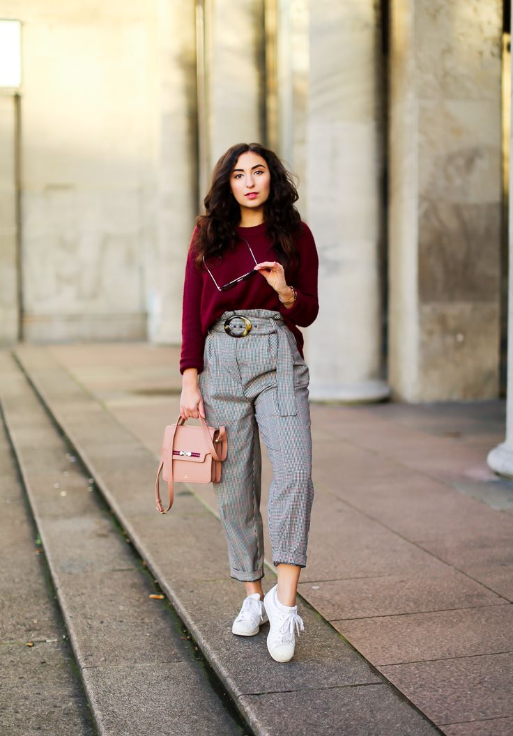 Styling Checkered Trousers