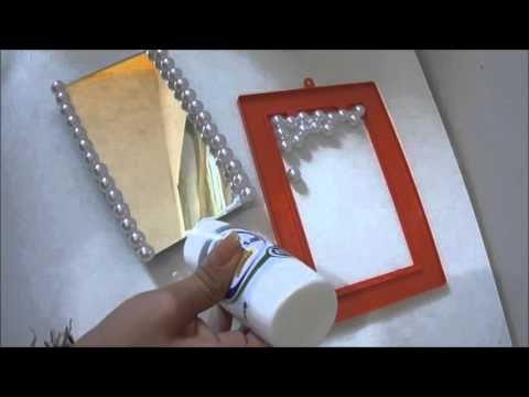 Como fazer sua bandeja espelhada- Diy Faça você mesmo-Crie e faça você|Tatiane Xavier - YouTube