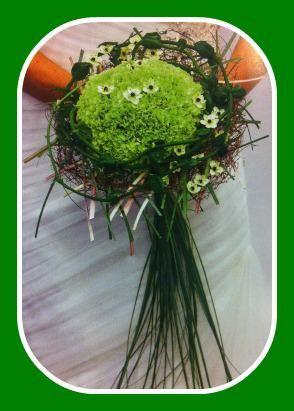 grønn bukett