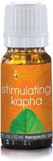 Stimulating Kapha Aroma Oil. Aromatherapy blend from vpk, by Maharishi Ayurveda.