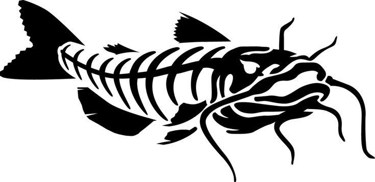 Catfish Skeleton Art For G Rods Recent Artwork