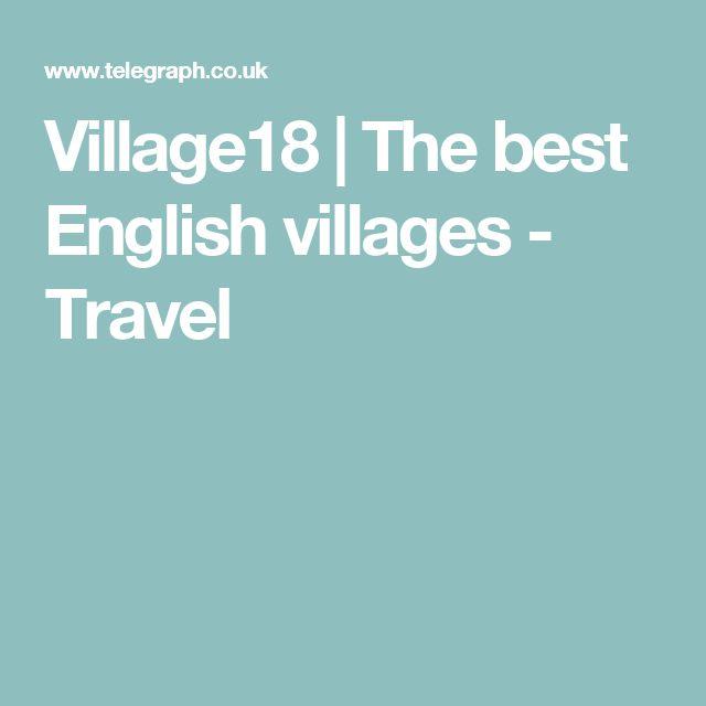 Village18 | The best English villages - Travel