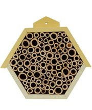 Yellow Wooden Bee House