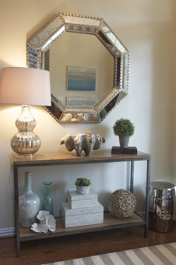 Amanda Carol Interiors Emerald Green Gold Mirrors: 1000+ Ideas About Small Entryway Tables On Pinterest
