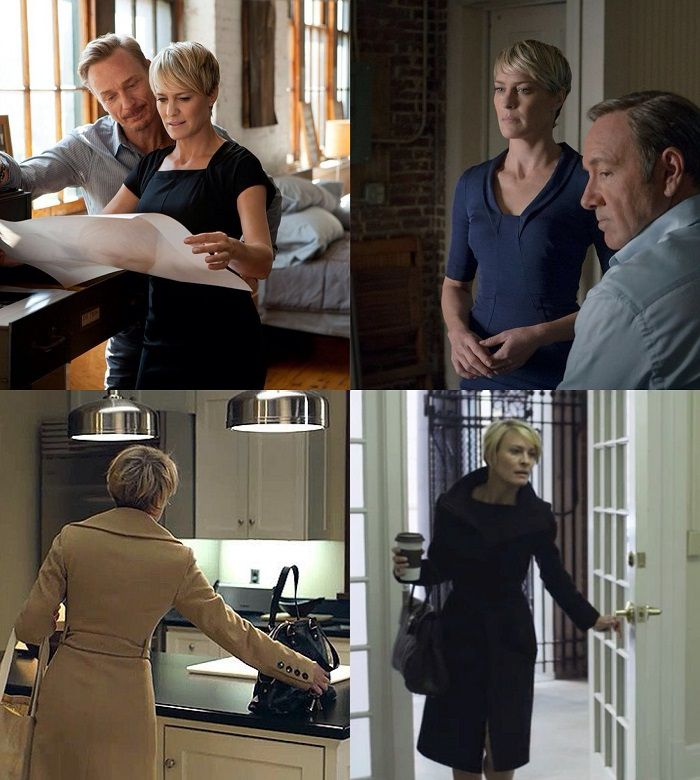 Claire Underwood Fashion Brands