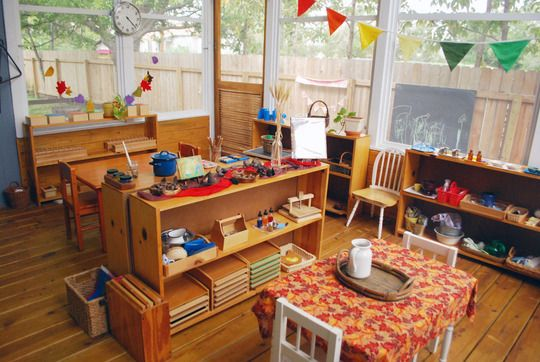 A Montessori/Waldorf-Inspired School at Home for Bea  Friends | Apartment Therapy