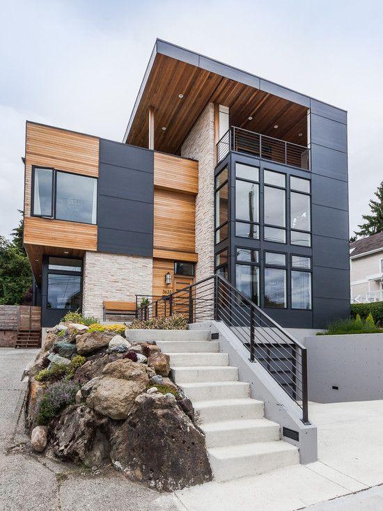contemporary exterior design ideas - Designs Homes